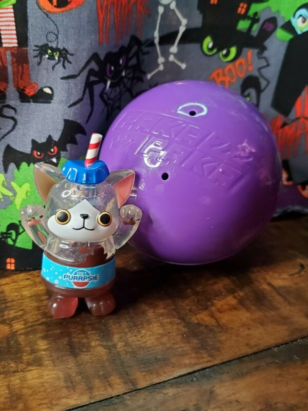 Paka Paka Soda Kats Funko Series 1 Mini Figure PURRPSIE 1/12