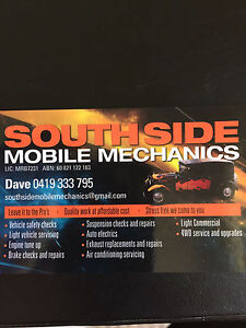 Southside mobile mechanics Armadale Armadale Area Preview