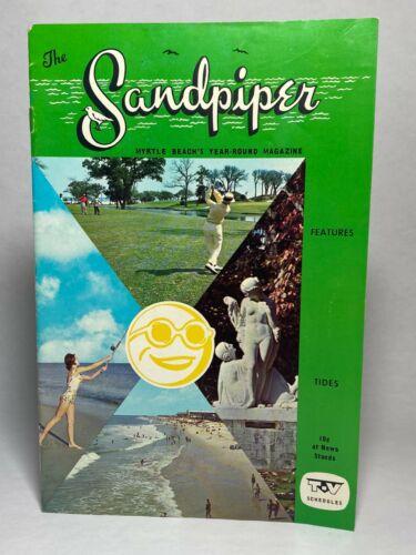 Vtg Myrtle Beach South Carolina SC SANDPIPER Magazine Travel Brochure 1965