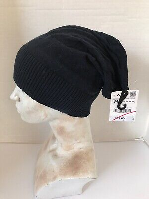 ZARA MAN HAT BLUE NEW WITH TAGS RETAIL $229