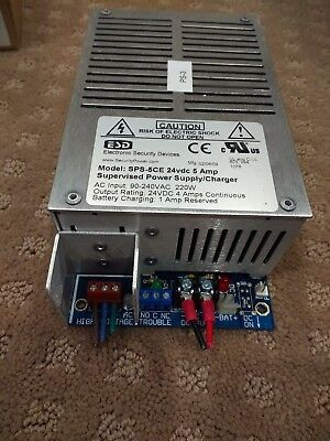 Esd Supervised Power Supply. 24 Vdc. 4 Amp Rms. Used. Guaranteed. Free Shipping.