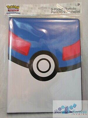 ULTRA PRO POKEMON Great Ball 9-POCKET PORTFOLIO PAGES FOR CARDS