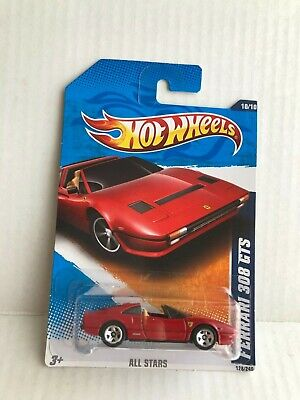 Hot Wheels Ferrari 308 GTS magnum car  10/10  128/240