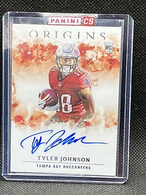 Tyler Johnson RC Auto On Card 2020 Panini Origins Redemption NFL
