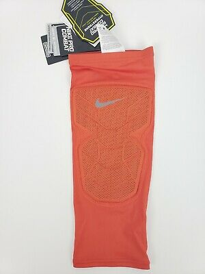 22851e69dc Nike Pro Combat Hyperstrong Compression Shin Sleeve Orange Men Size M 629884 -888
