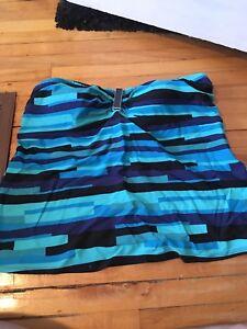 Plus size bathing suit top