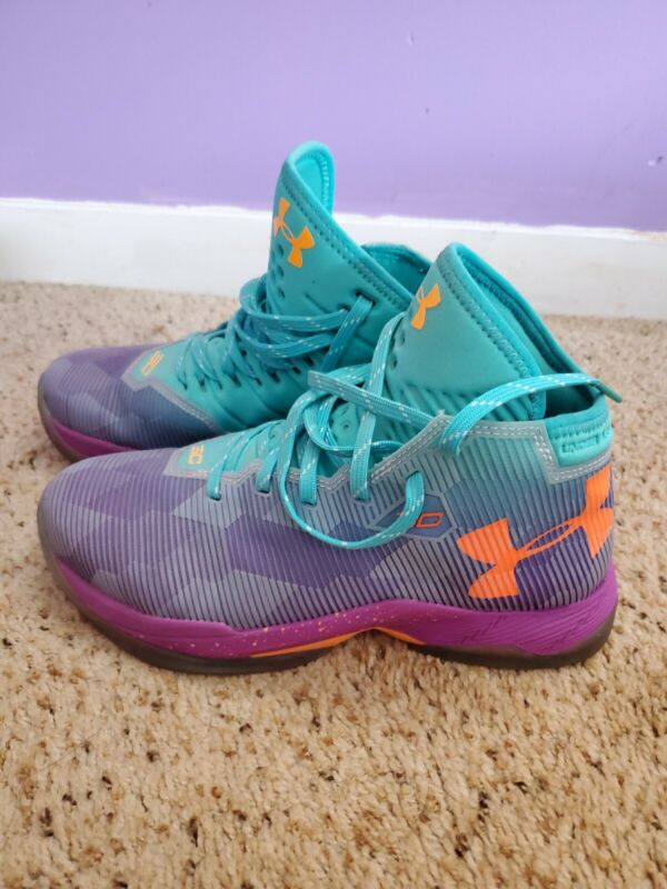 Stephen Curry Kids Basketball Shoes Size 6