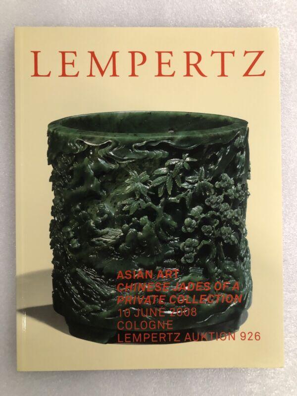 Lempertz Asian Art Chinese Jades 2008