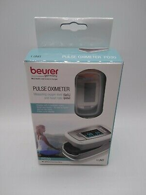 Beurer Pulse Oximeter Po30 And Case - Measuring Oxygen Levels Heart Rate