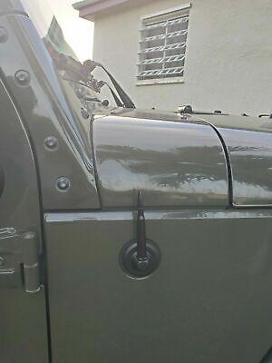 4.25 inch Black Antenna Mast for JEEP WRANGLER JK/JL 2007-2020 GLADIATOR