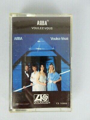 Vintage 1979 ABBA Volez - Vous Cassette Tape Pop Disco