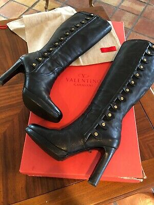 Valentino Garavani Boots. Made With The Best Quality (The Best Leather Boots)
