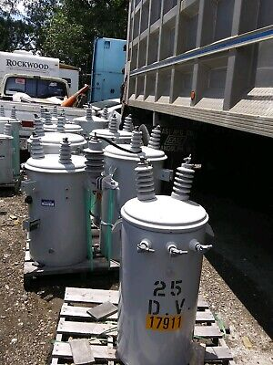 Lot Of About 18 Electric Pole Mount Tranformers Price Is For Each Item