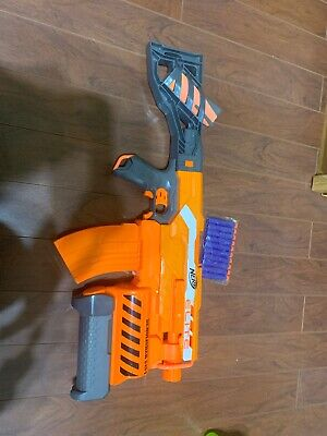 Nerf N strike elite demolisher 2-in-1 blaster Extra Magazines!!! Look At Picture