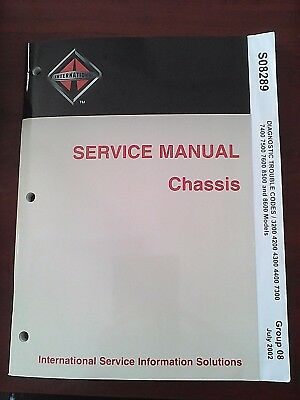 International Service Manual Chassis  Diagnostic Trouble Codes S08289 Group8   V
