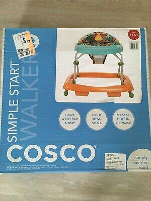 Cosco Simple Start Walker, Baby Walker Brand New in Box Free Shipping