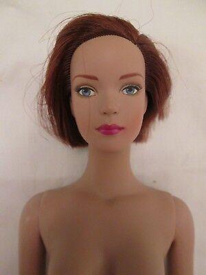 Tyler Wentworth Redhead Nude Tonner Doll BA Body Blue Eyes Shoulder Stress Marks