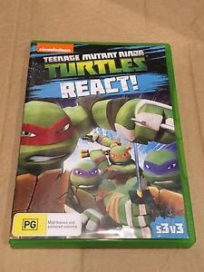 Teenage Mutant Ninja Turtles REACT Season 3 Volume 3 Melbourne Region Preview