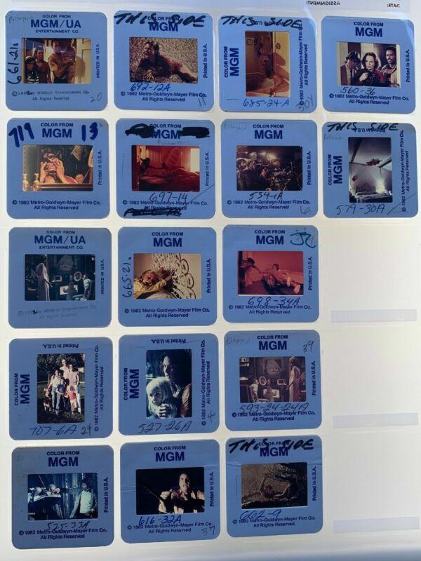 Poltergeist Horror Movie 35mm Slides 1982 Press Promo Heather O