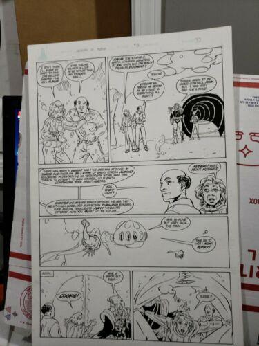 Warriors of Plasm #8 p.5  David Lapham Art (Defiant)