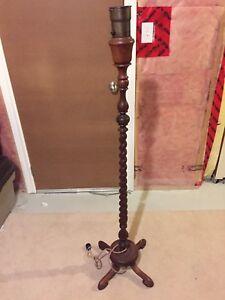 Vintage floor lamp base