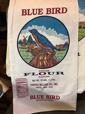 Blue bird 25 lb flour sack bag new condition