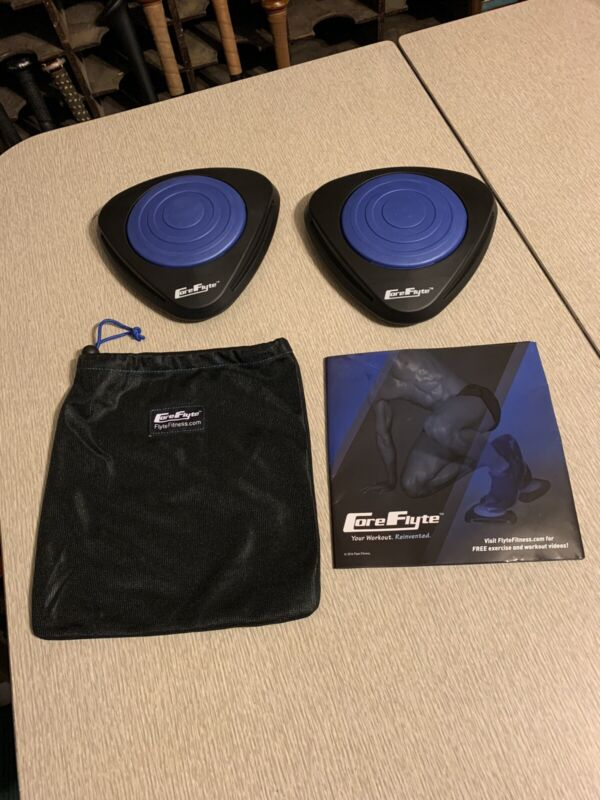 Core Flyte Gliding Core Disc Sliders For AB Core Workouts Home Workout
