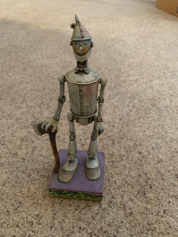 "2007 JIM SHORE Wizard Of Oz TIN MAN Figurine ""I Don't Miss A Beat"" #400948"