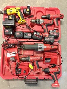 Assortment of power tools