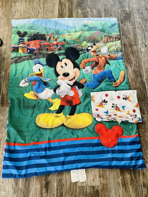 Disney Mickey Mouse Comforter With Sheet Crib Cover