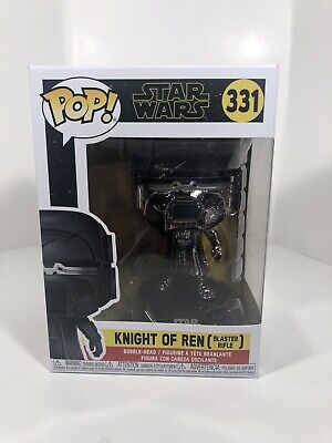 Star Wars Rise of the Skywalker Pop! Knights of Ren Blaster Funko W Protector
