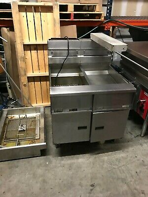 Pitco Solstice Fryer Model Sg14 Dump Station Filtration Natural Gas