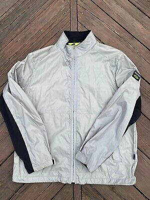 Vintage Nautica Competition Jacket Windbreaker Spellout Colorblock Large Running