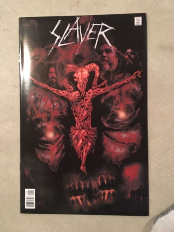 SLAYER COMIC BOOK #1 2ND PTG ROCK N ROLL BIOGRAPHY ( 2 Copies / 1 Signed
