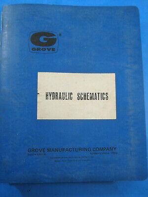 Grove Crane Hydraulic Schematics 1977 See List