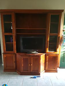 Tv Entertainment Unit. Parker Furniture. West Hoxton Liverpool Area Preview