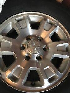 GMC rims Michelin tires 17 inch