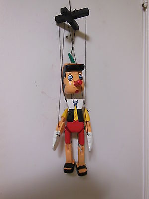 PINOCCHIO WOODEN MARIONETTE DISNEY REPLICA WOOD TOY DECOR VINTAGE PUPPET DOLL