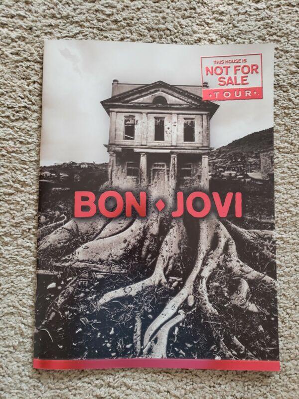 Bon Jovi This House Is Not For Sale Tour Program