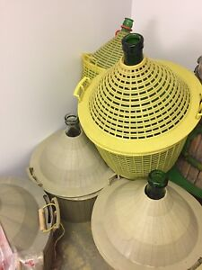 Wine Demijohns and gallons