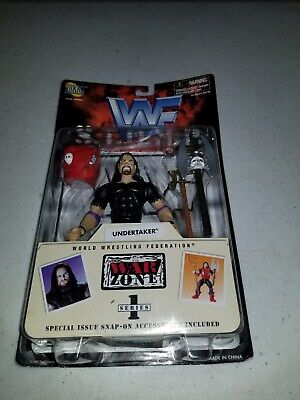 Undertaker WWF WWE Jakks Action Figure STOMP Series 1 1997 Sealed for sale  Shipping to India
