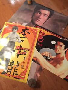 Lot of Bruce lee posters