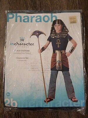 Q Child Pharaoh Halloween Costume Size 6
