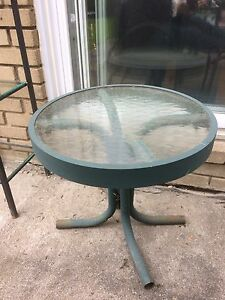 Small outdoor End Table