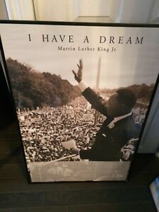Martin Luther King poster frame