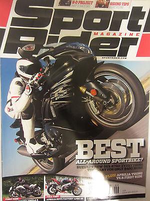 Sport Rider Magazine September 2011 Best All-Around Sportbike Suzuki