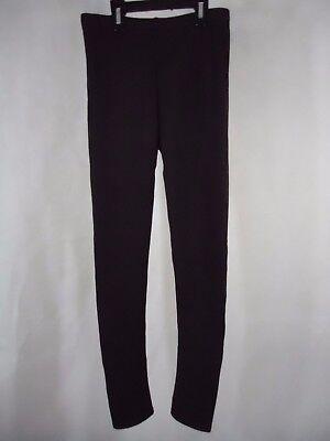 True Rock Women's Fleece Legging (Velour Lined) - Size S/M Juniors - Color Brown