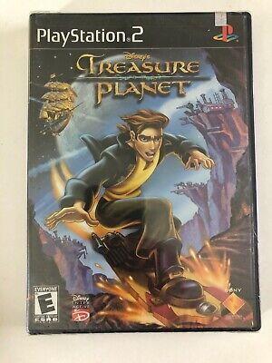 Treasure Planet PS2 New Playstation 2