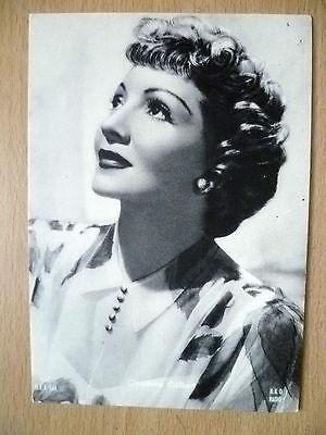 Postcard - Theater Actresses CLAUDETTE COLBERT, No.8602