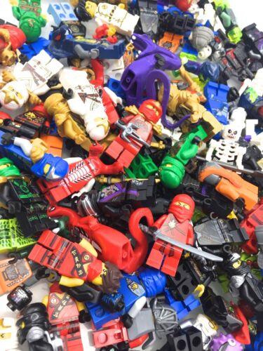 LEGO NINJAGO MINIFIGURES RANDOMLY PICKED KAI ZANE JAY NINJAS SNAKES MIX $6 EACH